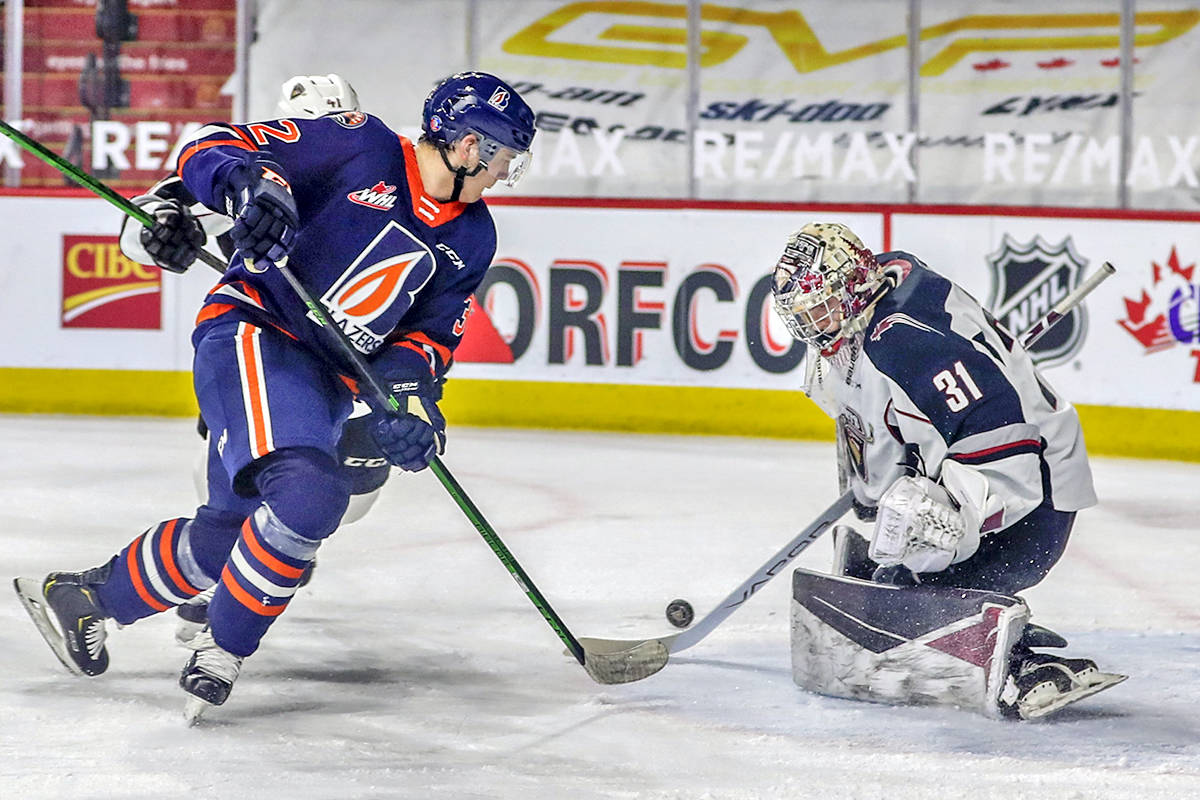 Giants defeated the Kamloops Blazers 4-0 Monday, April 5 (Allen Douglas/Special to Langley Advance Times)