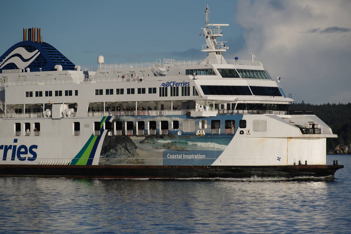 B.C. Ferries' Coastal Inspiration vessel. (Nanaimo News Bulletin file)