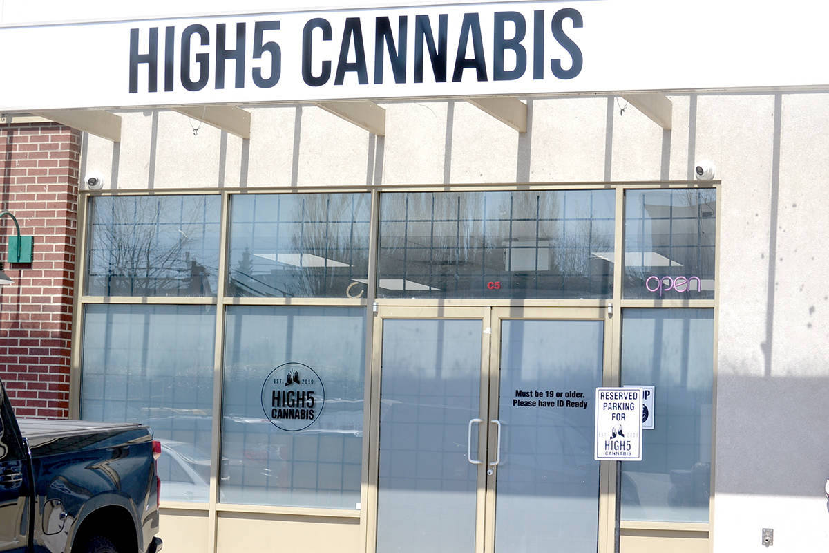 High5 Cannabis in Aldergrove. (Ryan Uytdewilligen/Aldergrove Star)