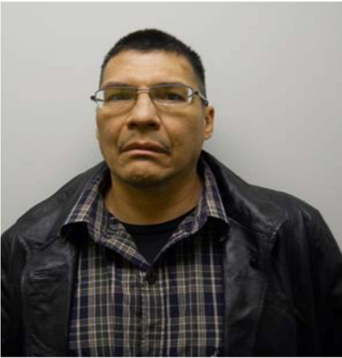 "Name: JEURISSEN, Shane Age: 51 Height: 5'8"" ft Weight: 221 lbs Hair: Black Eyes: Brown Tattoos: Left Forearm – Flames, Left Hand ""TY', Right Forearm – Flames, Right Hand – ""Black Marks, Left Forearm – Dragon and Right Wrist ""$"" Wanted: Canada Wide Warrant – Unlawfully at Large. Warrant in effect: April 1, 2021 Parole Jurisdiction: Surrey, BC"