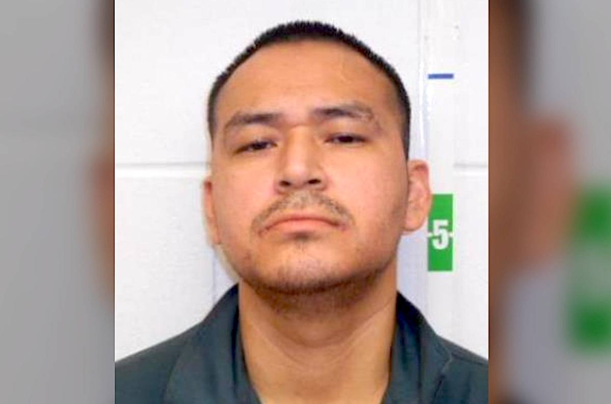 John Ambrose Seward, 33, is described as Indigenous and five-foot-eight with short black hair and brown eyes. (Police handout)