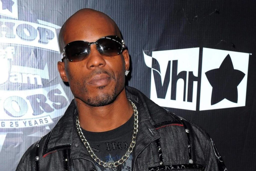 """DMX, the raspy-voiced hip-hop artist who produced the songs """"Ruff Ryders' Anthem"""" and """"Party Up (Up in Here)"""" and who rapped with a trademark delivery that was often paired with growls, barks and """"What!"""" as an ad-lib, has died, according to a statement from his family. (AP Photo/Peter Kramer, File)"""