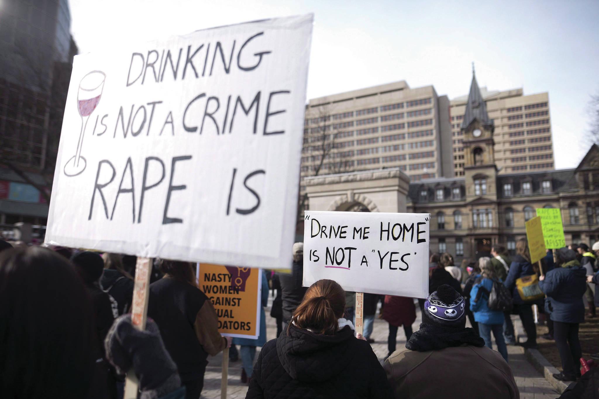 Rape culture puts the onus on survivors rather than perpetrators.(THE CANADIAN PRESS file photo/Darren Calabrese)