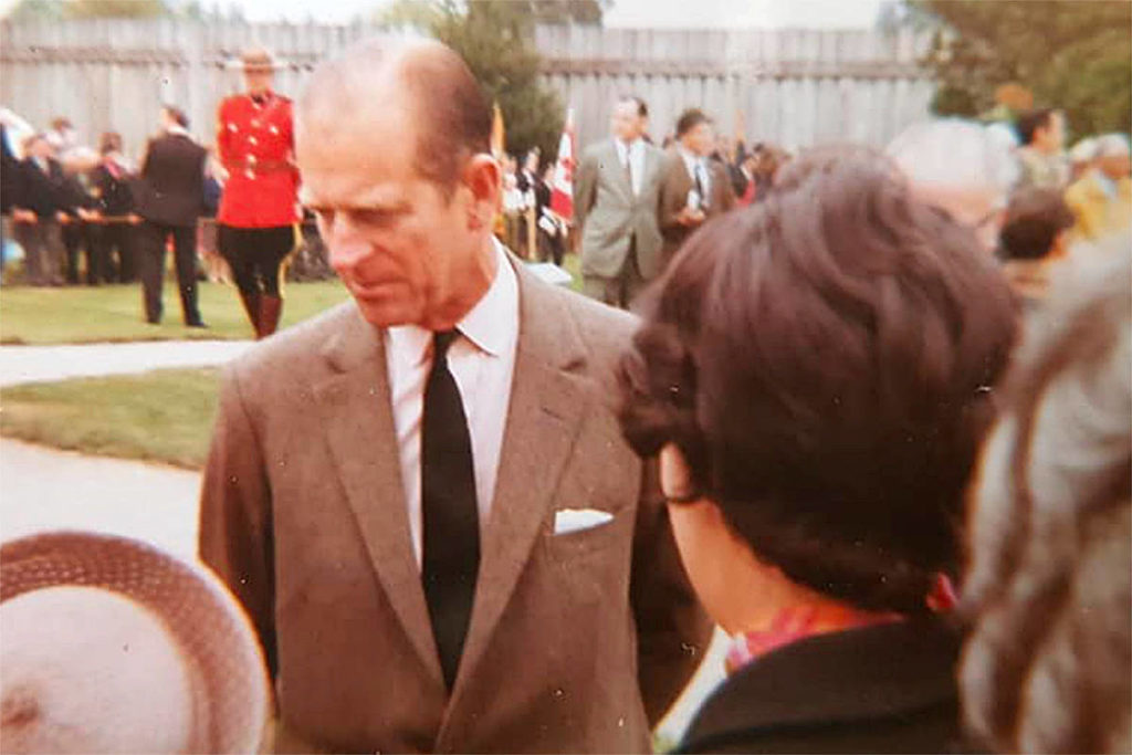 The royals – Queen Elizabeth II, Prince Philip, and their daughter Princess Anne – visited the Fort Langley National Historic Site during their visit in spring 1971, and Elizabeth Hunter, a little girl at the time, snapped these photos later shared with the fort. (Elizabeth Hunter/Special to Langley Advance Times)