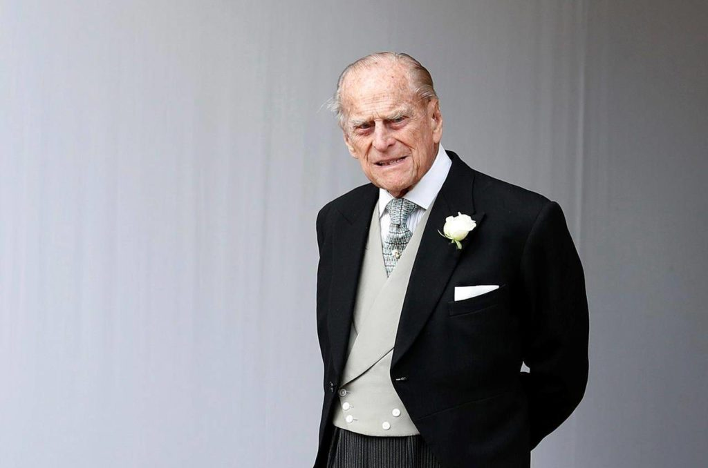 Buckingham Palace officials say Prince Philip, the husband of Queen Elizabeth II, has died. THE CANADIAN PRESS/AP/Alastair Grant