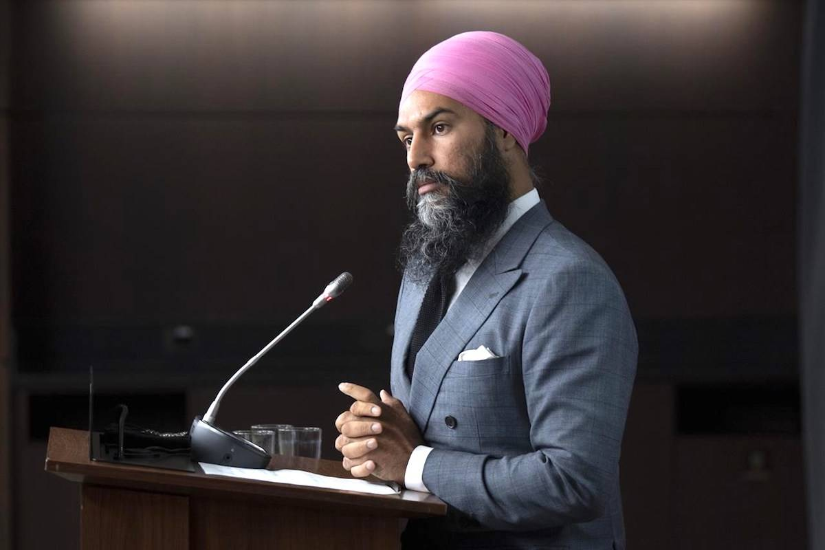 Thousands of federal New Democrats gathered online Friday afternoon to kick off a three-day policy convention that has already exposed some internal party divisions. THE CANADIAN PRESS/Adrian Wyld