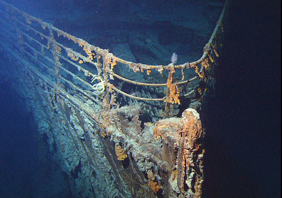 The wreck of the Titanic was discovered in 1985, more than two miles below the ocean's surface and about 400 miles off the coast of Newfoundland. Photo contributed.