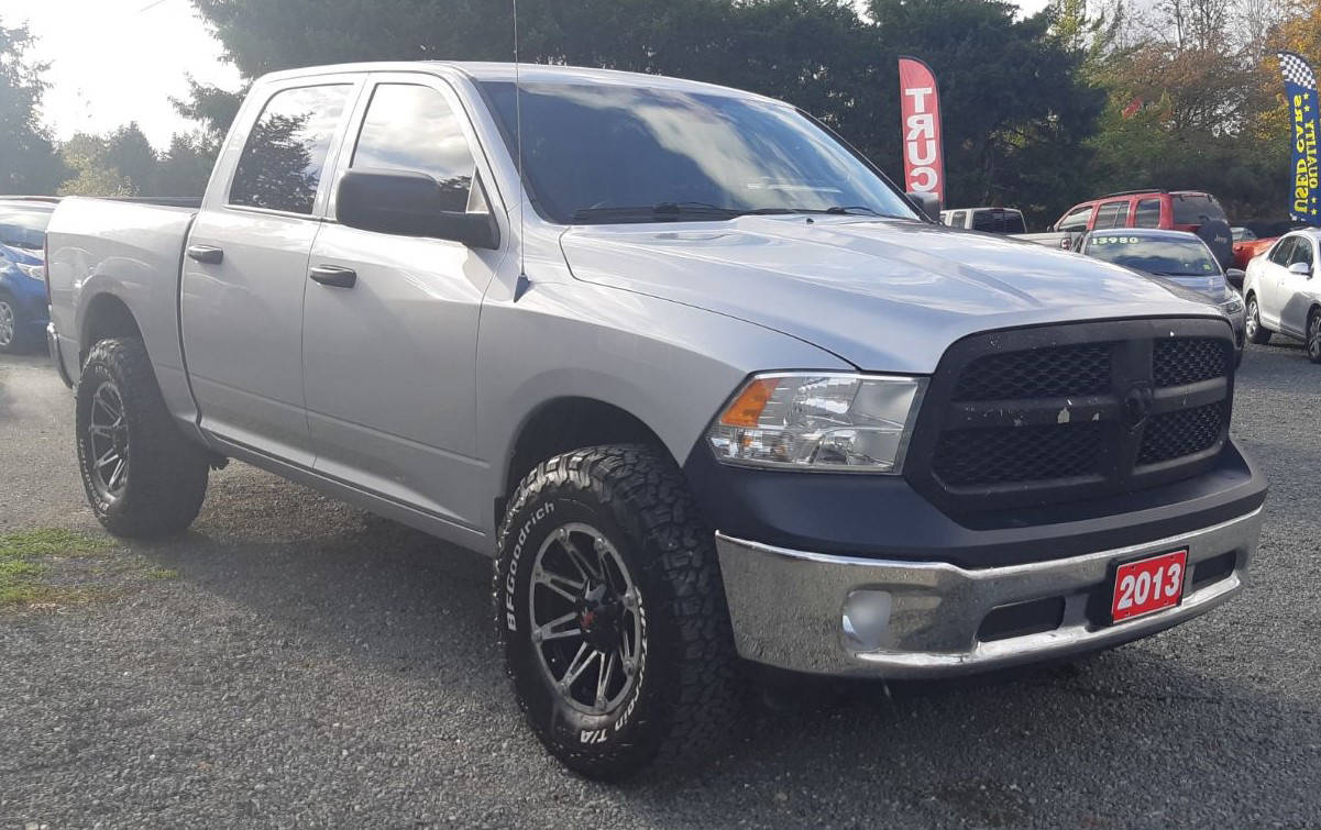 This 2013 Dodge Ram 1500 was stolen from Black Creek Motors at approximately 2 a.m. Sunday, April 11. Photos via blackcreekmotors.com