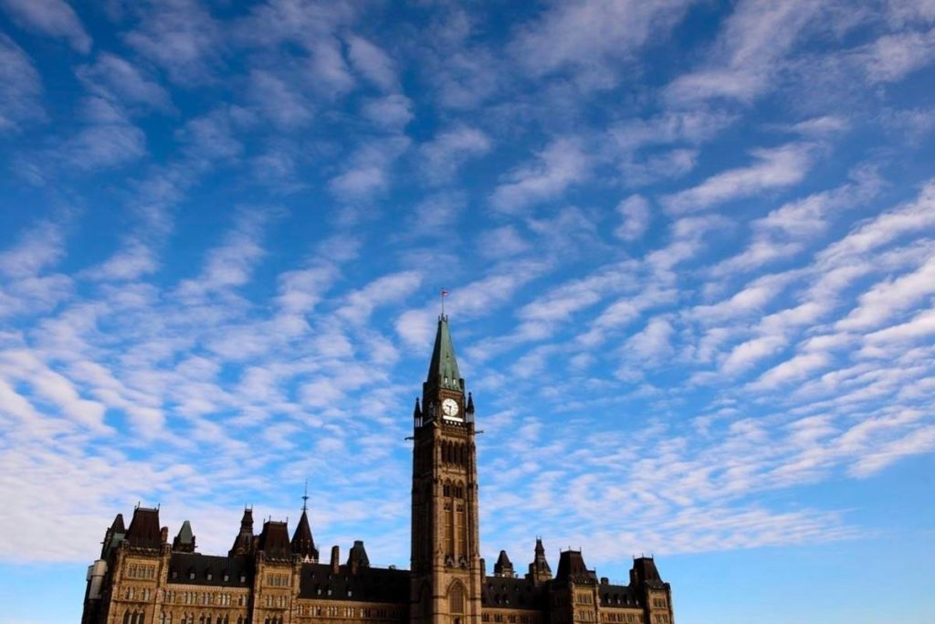 Parliament Hill is shown in Ottawa on Wednesday, March 11, 2020. The Trudeau government has agreed with the Senate that Canadians suffering solely from grievous and irremediable mental illnesses should be entitled to receive medical assistance in dying — but not for another two years. (THE CANADIAN PRESS/Sean Kilpatrick photo)