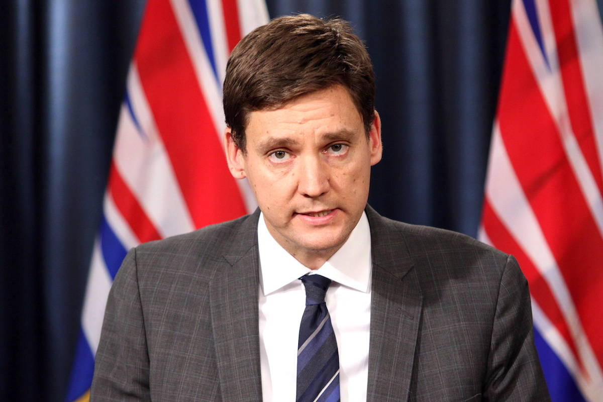 B.C. Attorney General David Eby, Minister Responsible for Housing. THE CANADIAN PRESS/Chad Hipolito