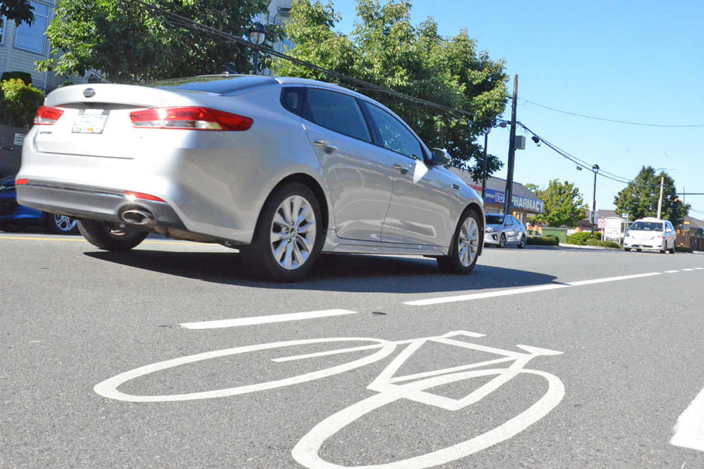 A local cycling enthusiast is urging riders, runners and pedestrians to leave the devices off for their own safety. (Heather Colpitts/Langley Advance Times)
