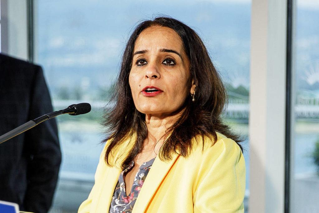 Rachna Singh, MLA for Surrey-Green Timbers, is the parliamentary secretary for anti-racism initiatives. (Photo: flickr.com/photos/bcgovphotos)