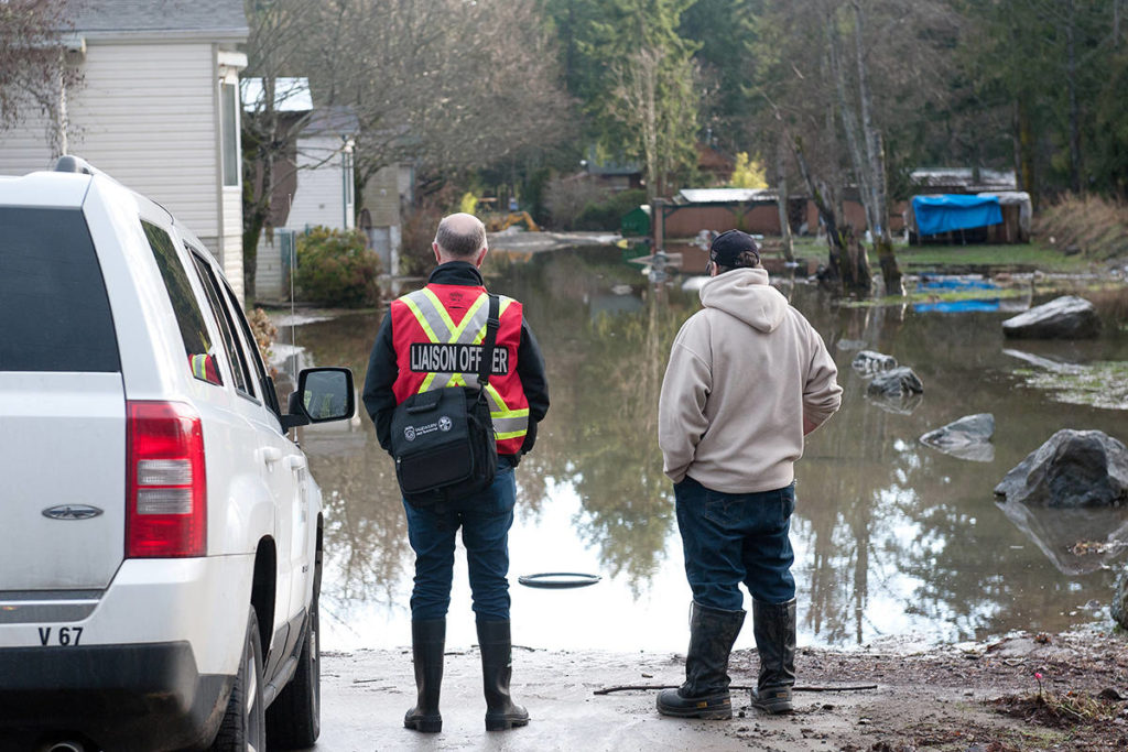 B.C. homeowners are being urged to take steps to prepare for the possibility of a flood by moving equipment and other assets to higher ground. (J.R. Rardon)