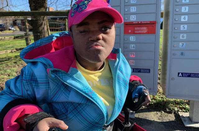 Joudelie King wants to get out and live life to the fullest, but there are places she can't go because they don't meet her accessibility needs. (submitted photo)