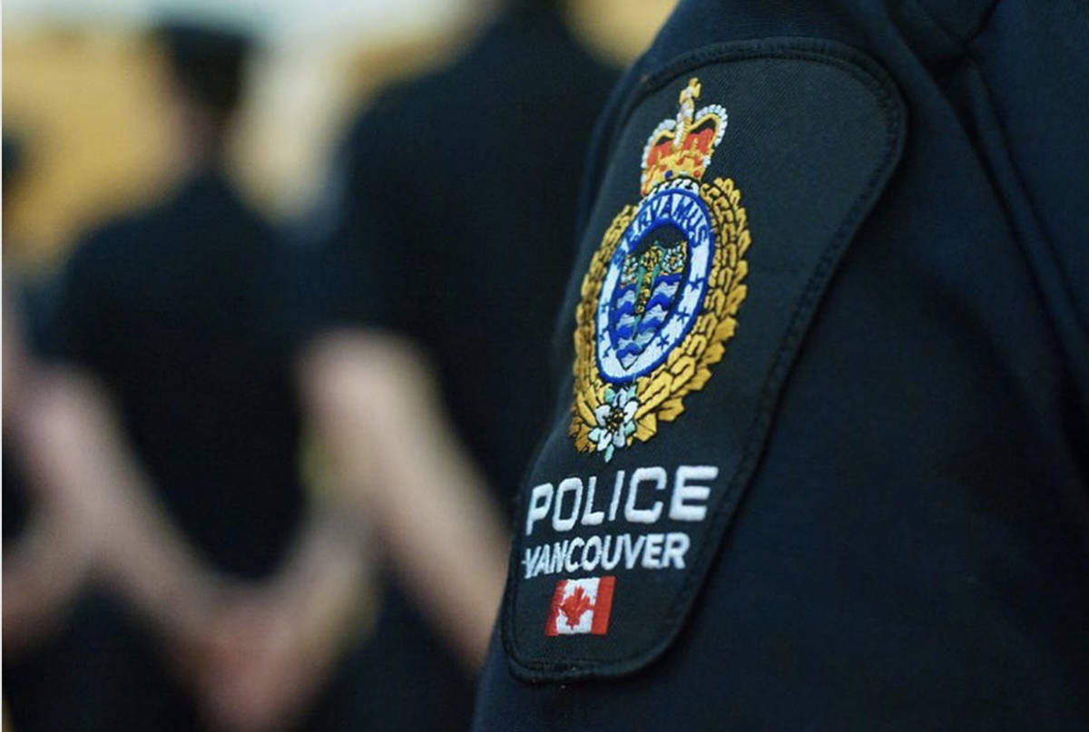 Vancouver Police Department. (Black Press Media files)