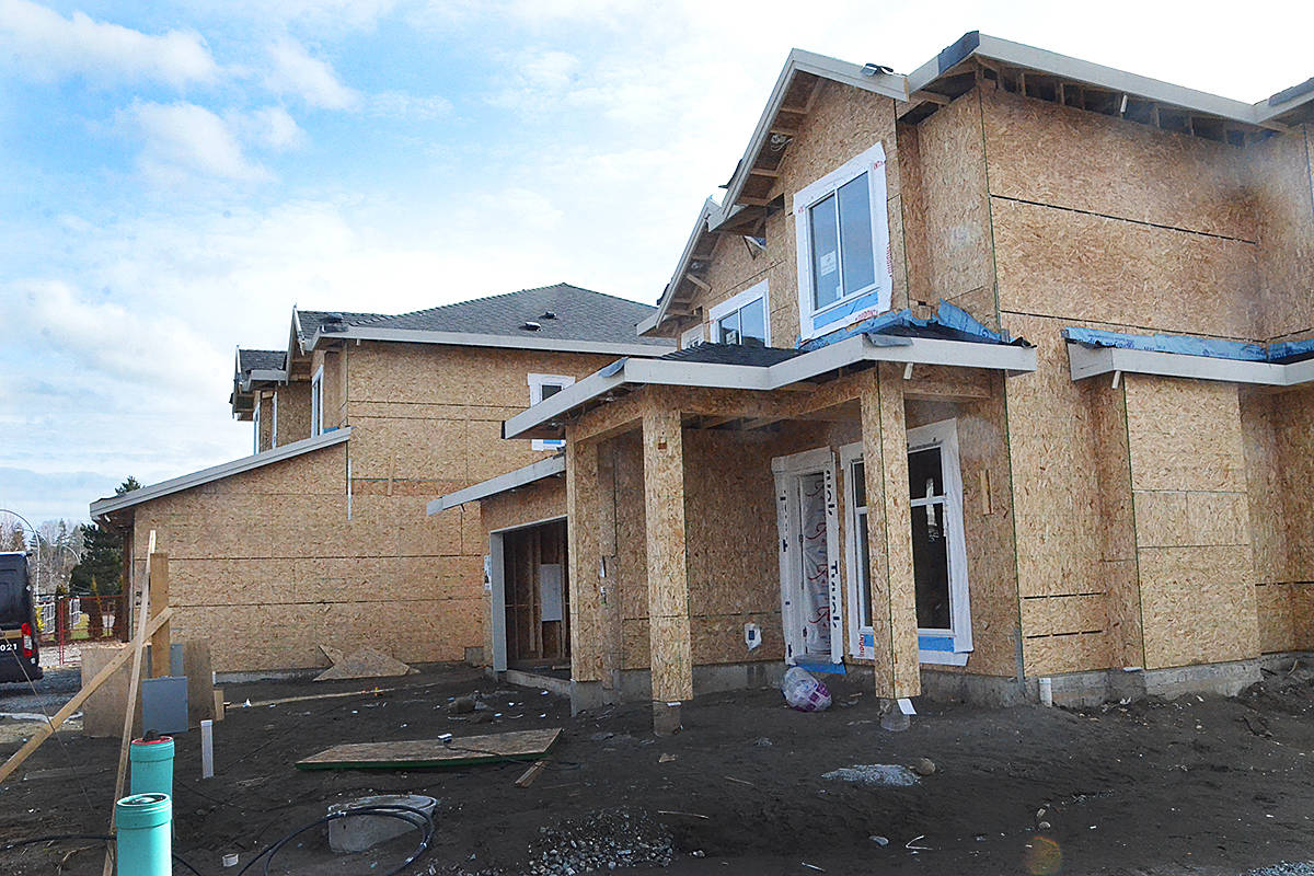 A housing construction boom is underway across Canada, and Lanlgey is not being left out. (Langley Advance Times files)