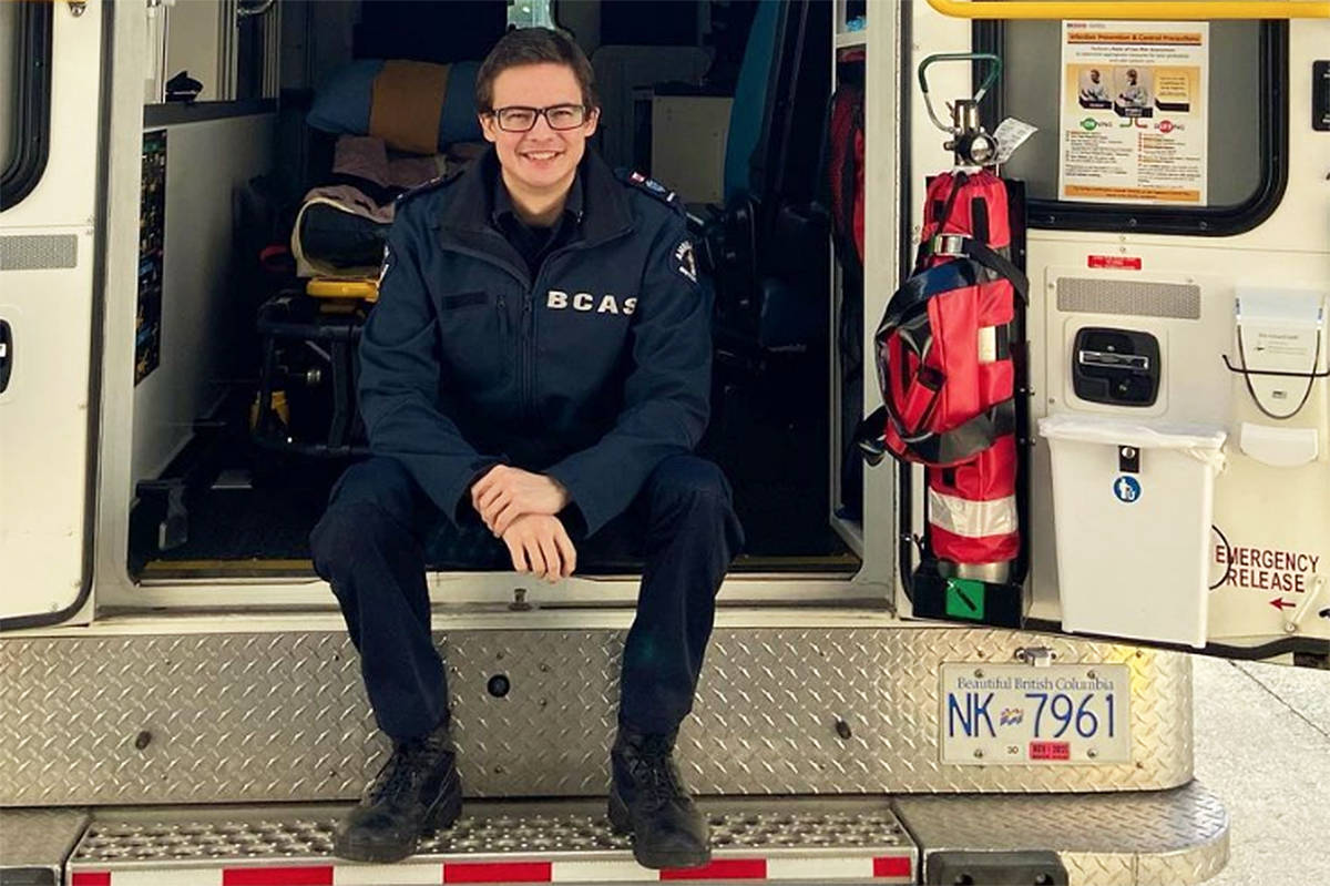 Paramedic Matthew Schlatter of Victoria is living a fuller life today due to the double lung transplant he received in 2019. He encourages B.C. residents to register as an organ donor and let their families know their wishes. (Instagram/Matthew Schlatter)