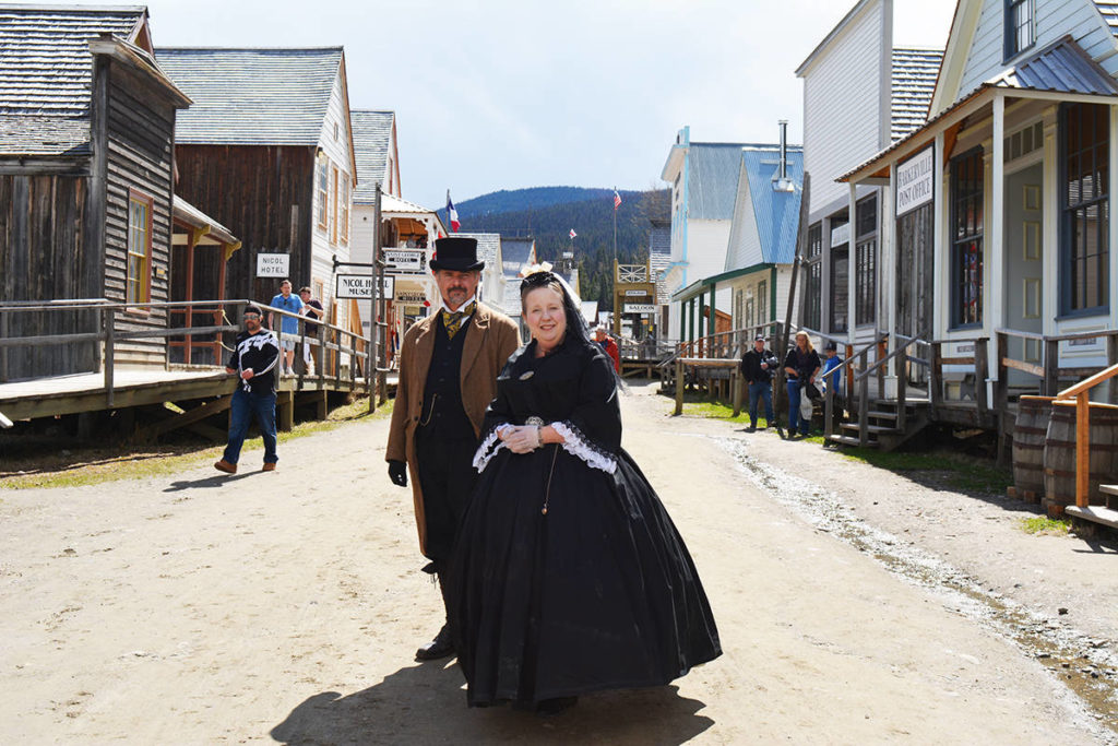 Queen Victoria arrives in Barkerville during the 2019 Victoria Day weekend celebrations. Barkerville Historic Town and Park typically opens in mid-May, but COVID-19 travel and gathering restrictions continue. (Quesnel Cariboo Observer)