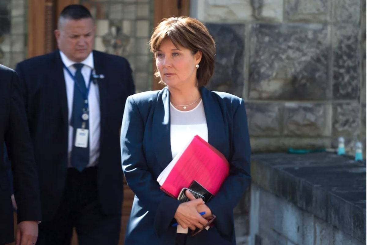 Christy Clark, who was premier from 2011 to 2017, is the first of several present and past politicians to appear this month before the Cullen Commission, which is investigating the causes and impact of B.C.'s money-laundering problem over the past decade. (Darryl Dyck/Canadian Press)