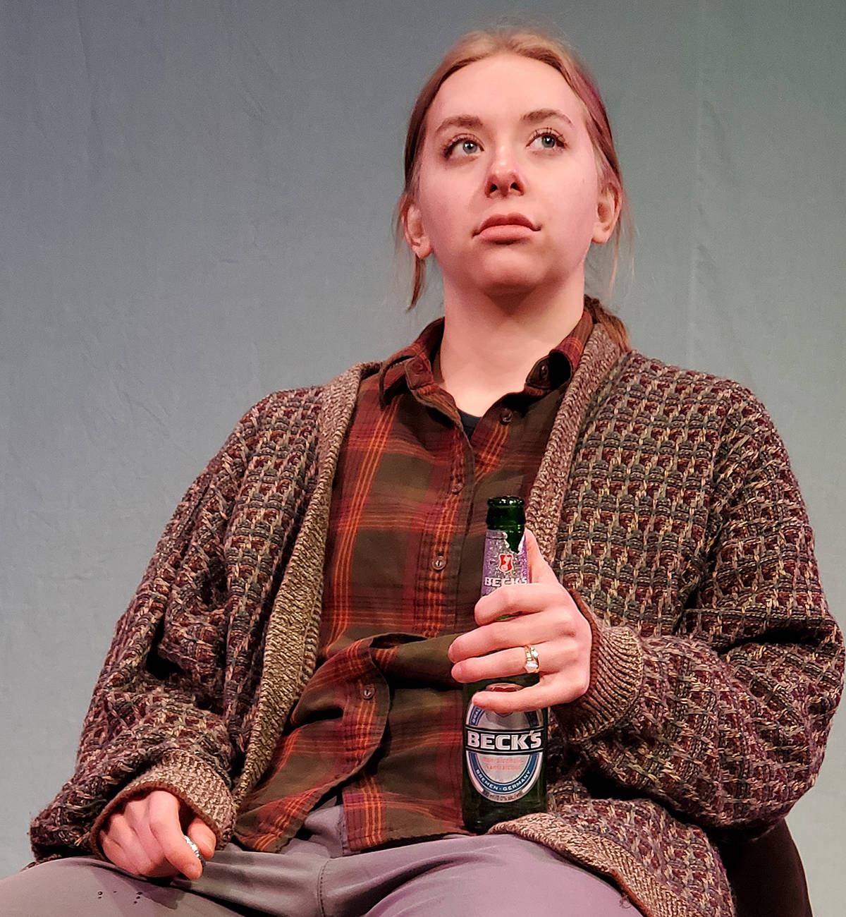 Cassie Unger stars in the Theatre in the Country production this week of Jewel. It's a one-woman show that will be livestreamed alongside a mini tribute concert to Joni Mitchell, featuring local singer Jessica Mai. (Special to Langley Advance Times)