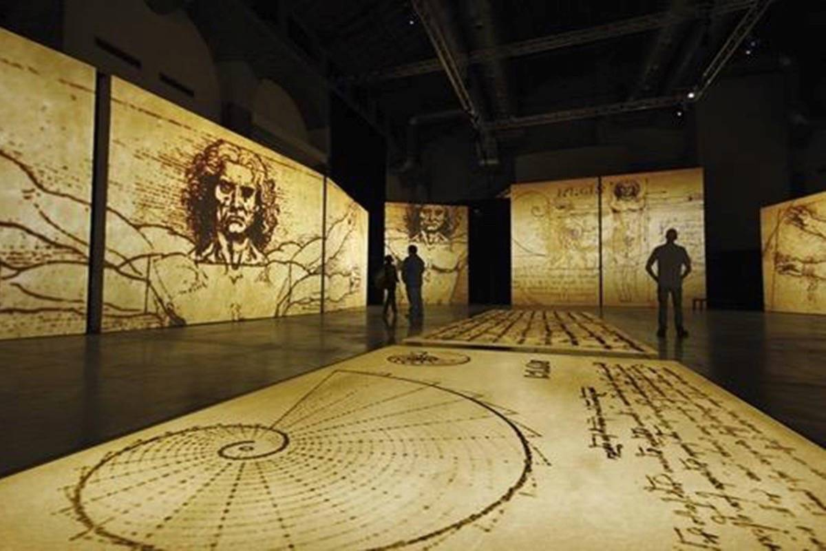The Da Vinci Experience is scheduled to open at Tsawwassen Mills (5000 Canoe Pass Way) in June, with early bird tickets for shows July 15 to Aug. 15 on sale now. (Submitted photo)