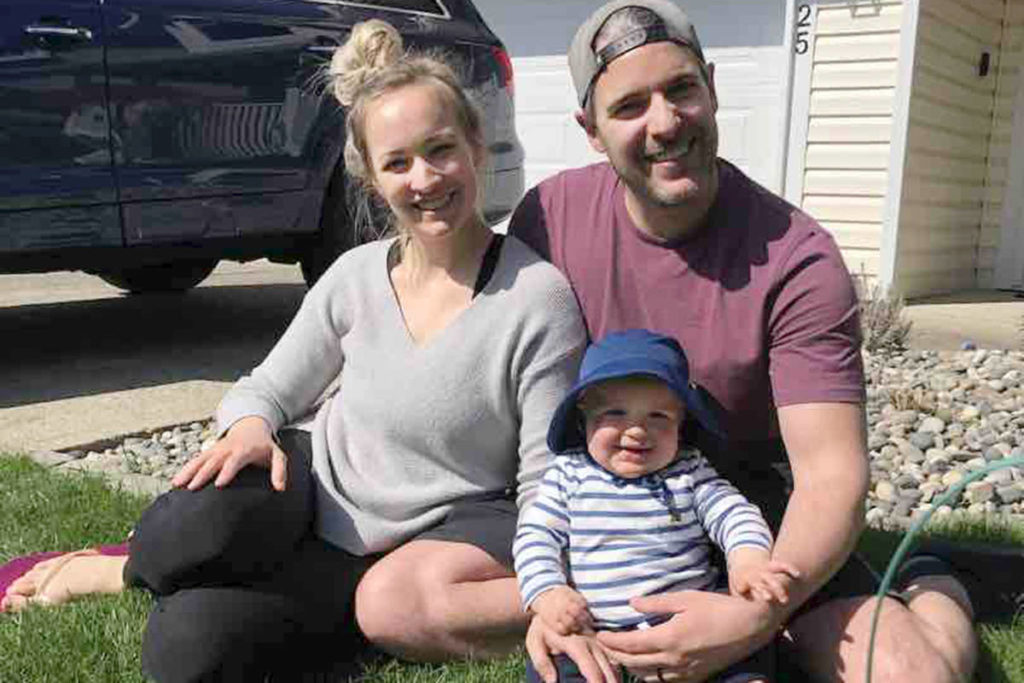 Langley parents Bethany and Andrew Ellerman are grieving the death of their almost one-year-old son Wesley, who passed away on April 10, 2021. (GoFundMe)