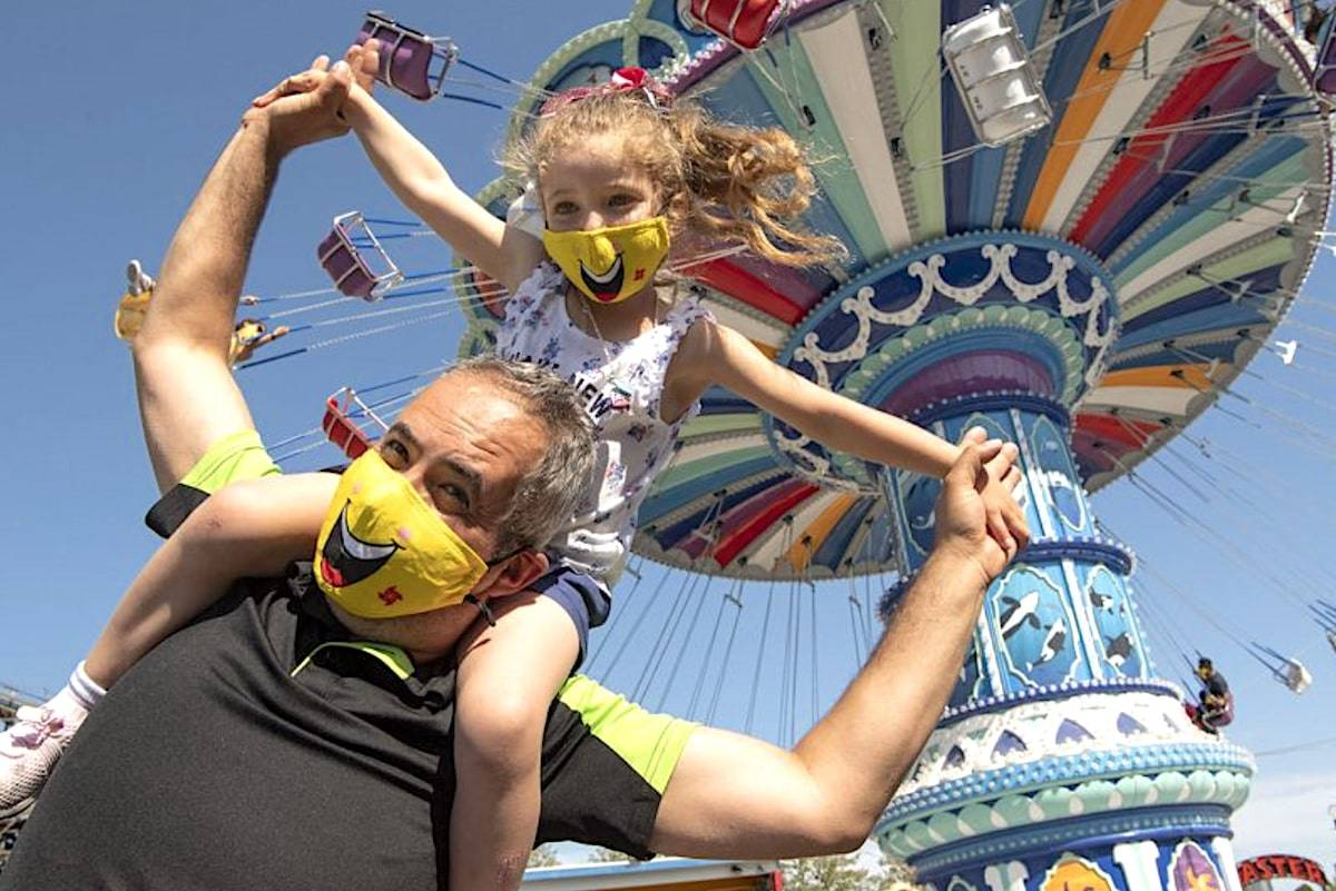 Playland at the PNE is set to reopen this May, with COVID-19 health and safety measures approved by the province. (Website/Playland)