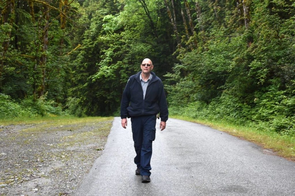 Stu Burgess is operations manager for Golden Ears and Rolley Lake Provincial Parks. (The News files)