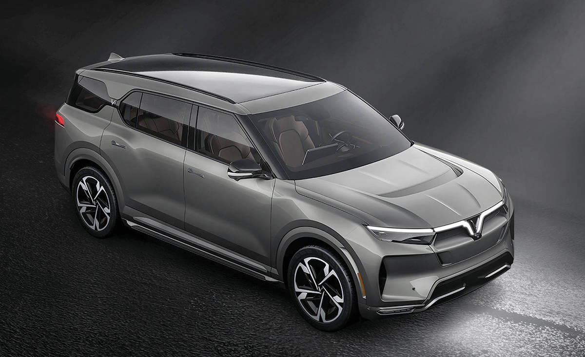 Vinfast from Vietnam plans to sell a trio of electric vehicles in North America, beginning with the VF33 utility vehicle. PHOTO: VINFAST
