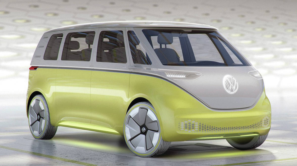 The Volkswagen ID.Buzz.