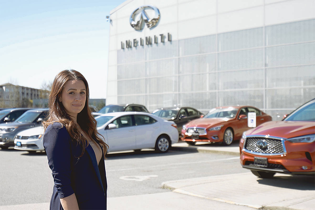 Pamela Alspach is general manager of OpenRoad Infiniti Langley. (Special to Langley Advance Times)