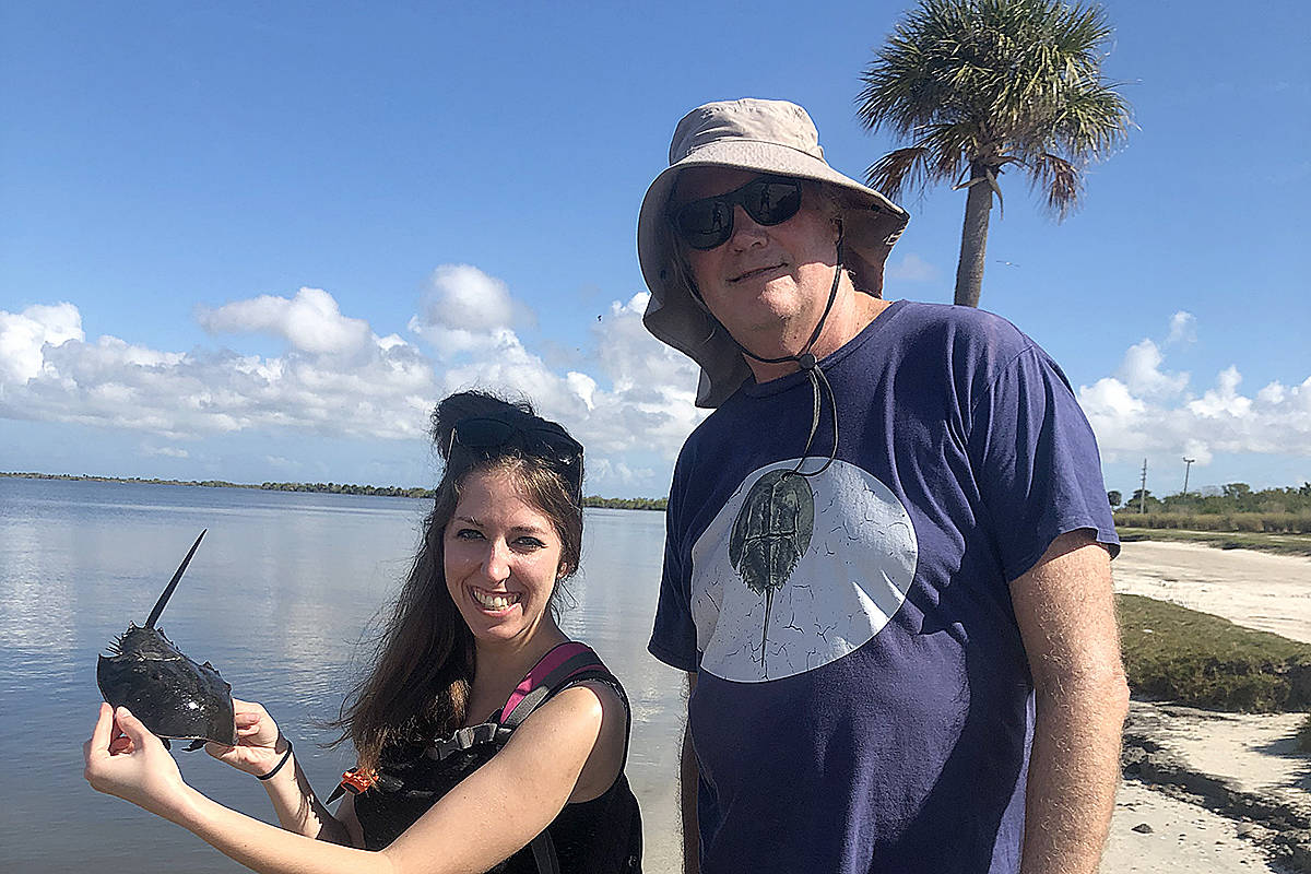 Langley university graduate Katharine Sell helps tackle ocean microplastics and protect marine life. (Special to Langley Advance Times)