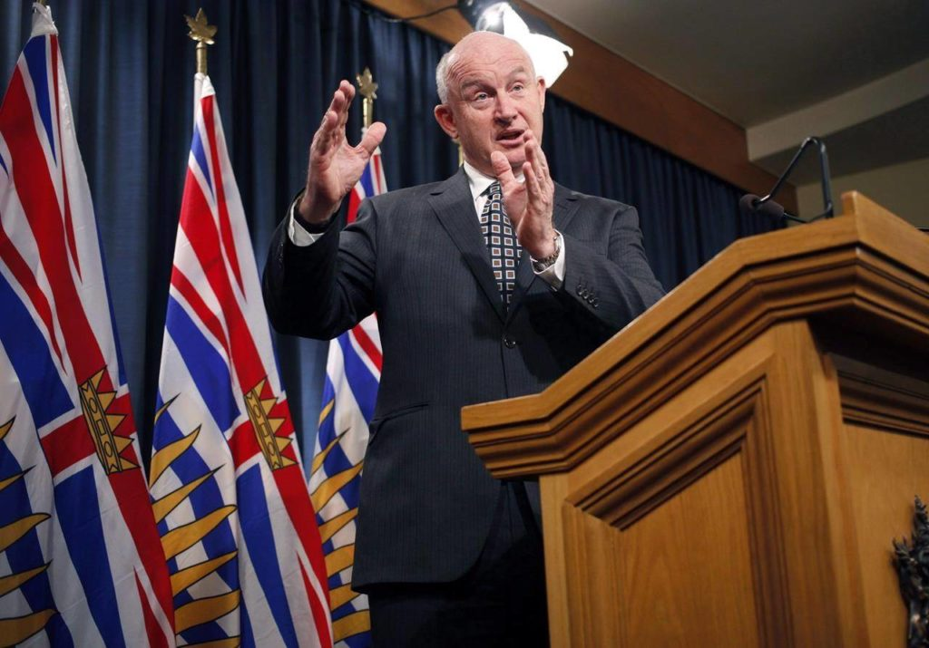 Minister of Public Safety and Solicitor General Mike Farnworth speaks to media at the Legislature in Victoria, B.C., on Monday February 5, 2018. THE CANADIAN PRESS/Chad Hipolito