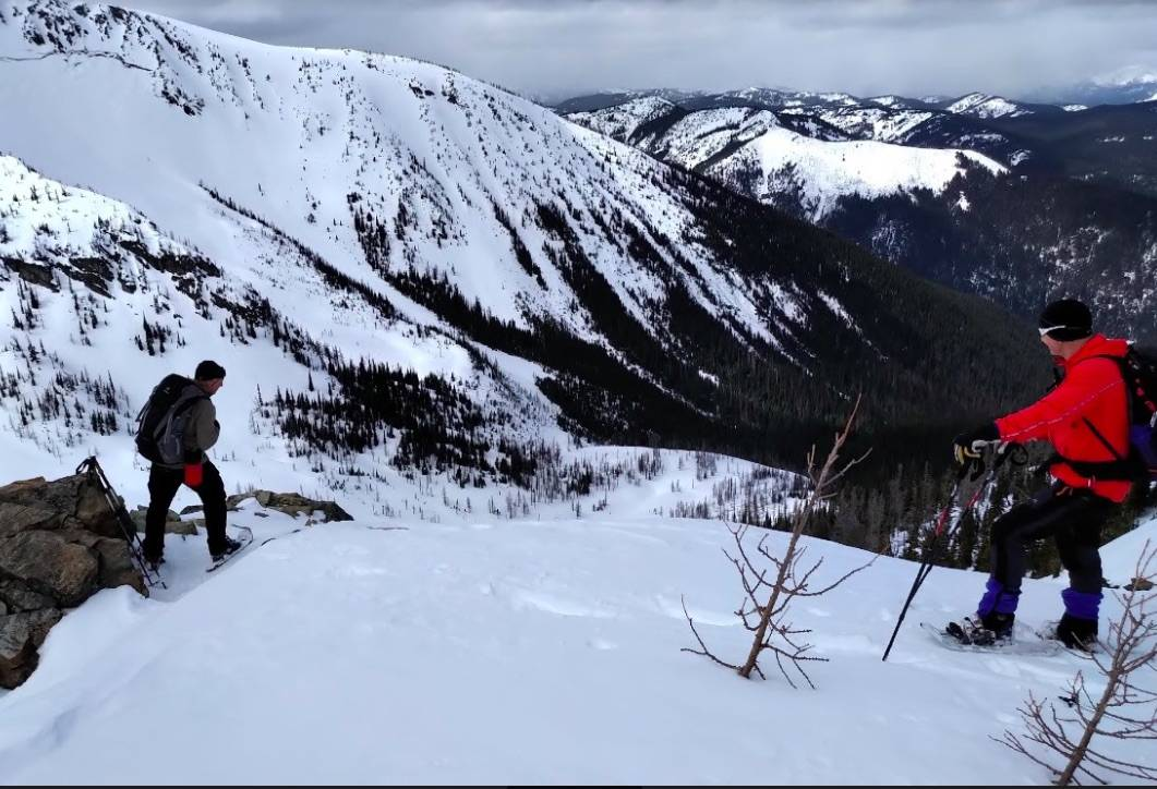 As the snow in Manning Park melts, searchers are able to get a little farther each day. Photo submitted
