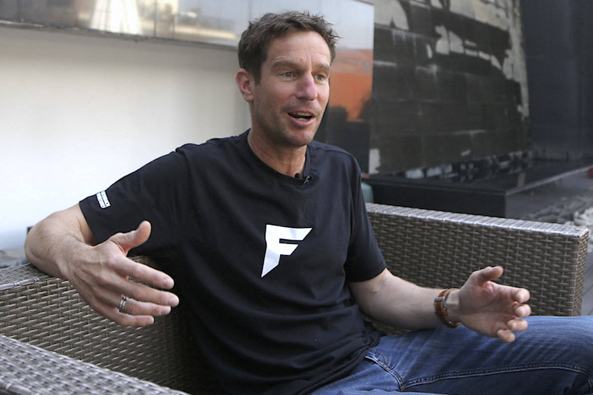 Mountain guide Lukas Furtenbach, warned if safety measures are not taken, the virus could spread among the hundreds of other climbers, guides and helpers camped on the base of Everest. (AP Photo/Niranjan Shrestha)