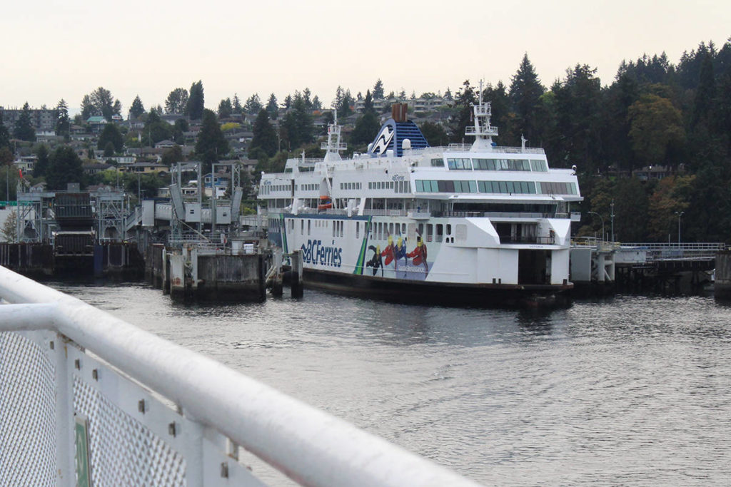 Departure Bay ferry terminal in Nanaimo. (News Bulletin file photo)