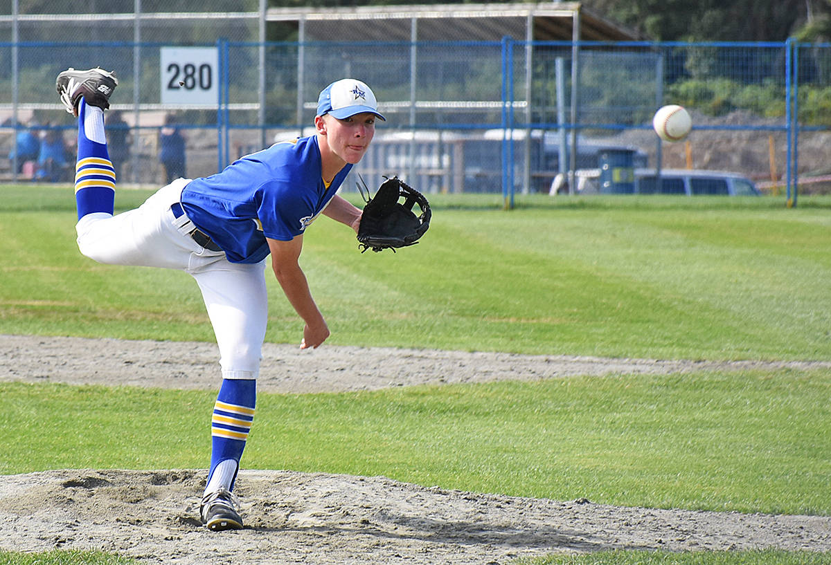 Pierce Radke, one of the top players for the Ridge Meadows Royals, was picked up by the B.C. champs to play in the 15U nationals. Do you know which major league baseball player holds the record for the most home runs? (Black Press file photo)