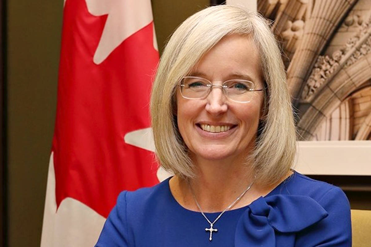Cloverdale-Langley City MP Tamara Jansen is being criticized for her recent comments on homosexuality. (file)