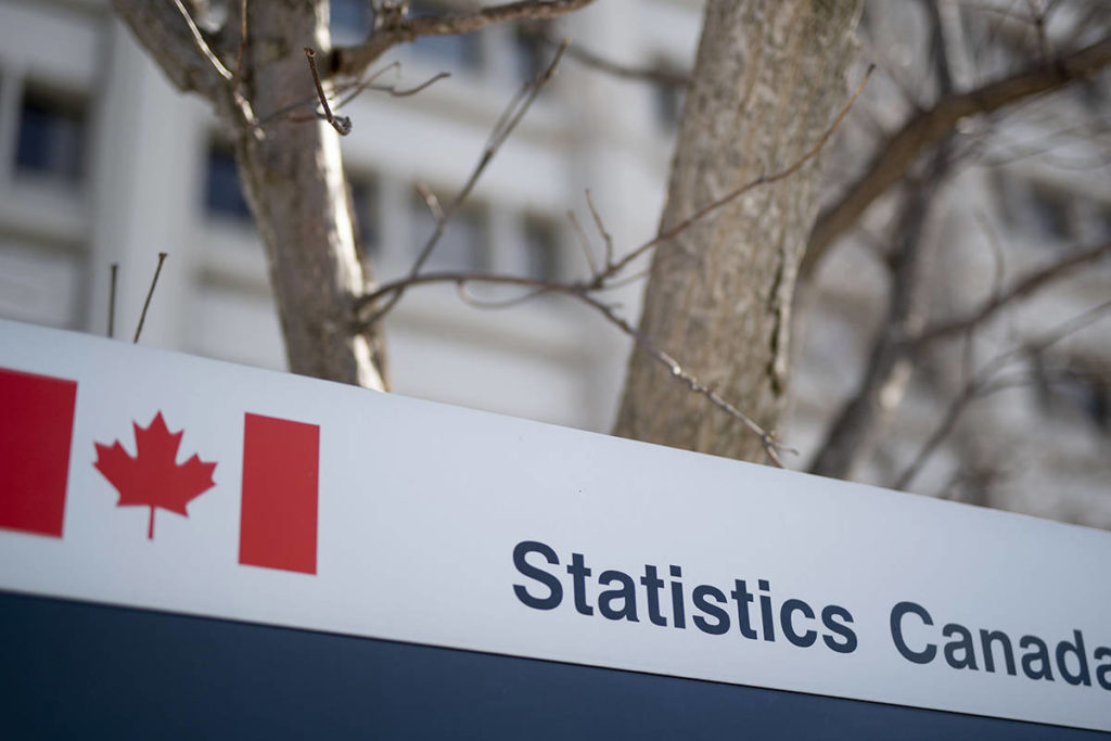Inflation rose 2.2 per cent in March 2021 compared to March 2020, according to Statistics Canada. Month-to-month inflation rose 1.1 per cent in March over February. (THE CANADIAN PRESS/Justin Tang)