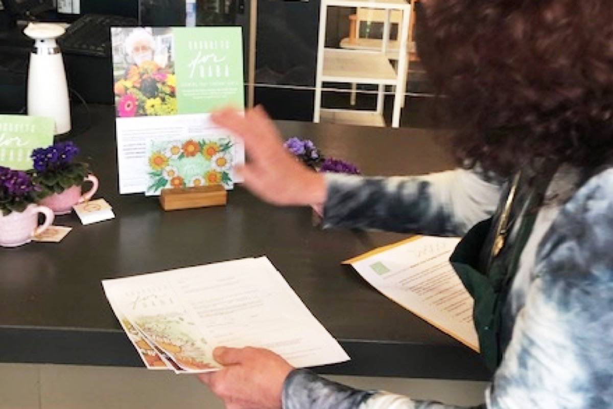 Bouquets for Baba Mother's Day campaign kicks off at Maple Ridge Florist. (Special to The News)