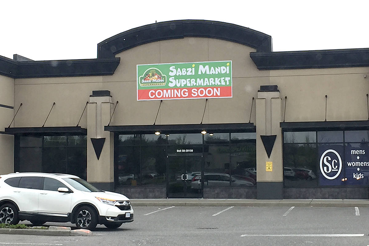A new supermarket is coming to RioCan power centre on the Langley Bypass and 200th Street soon. (Roxanne Hooper/Langley Advance Times)