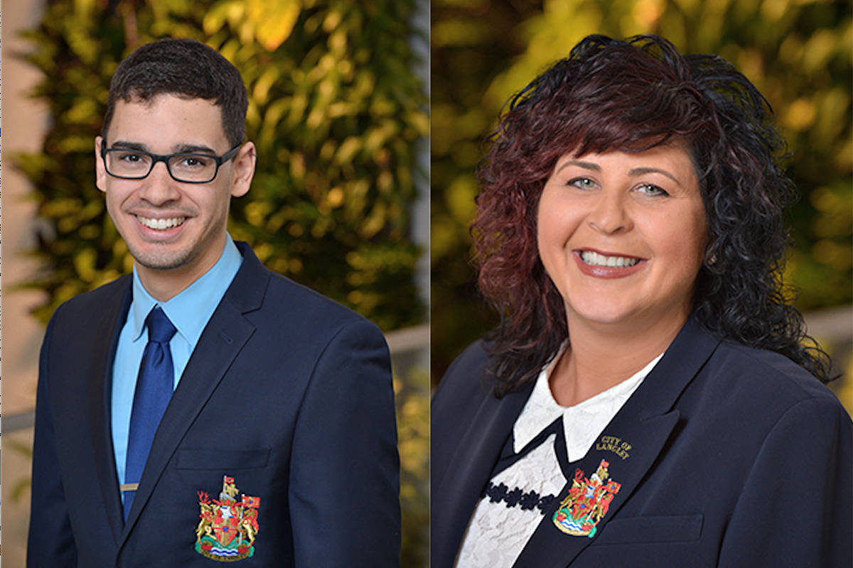 Langley City Coun. Nathan Pachal won support from council colleagues for a third report on police overtime being used to pay for tickets to mayor Val van den Broek's 2020 gala, and for a review of police that includes a look at an independent police service for Langley (files)