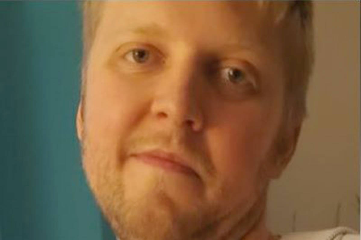 Joel Reed Goddard, 32, has been found safe, the RCMP announced on Tuesday, April, 27, 2021. (Langley RCMP)