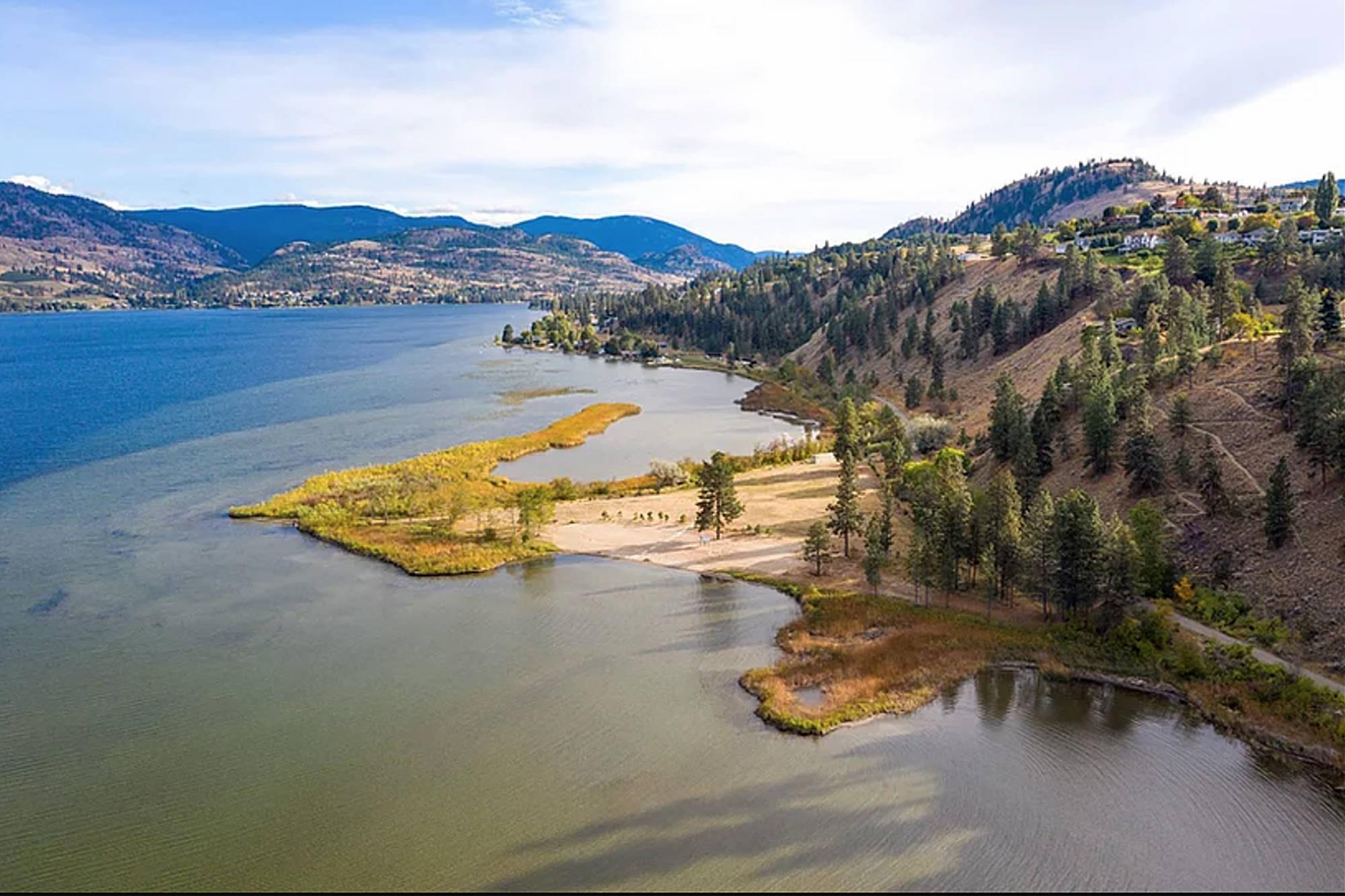 Sickle Point on Skaha Lake.