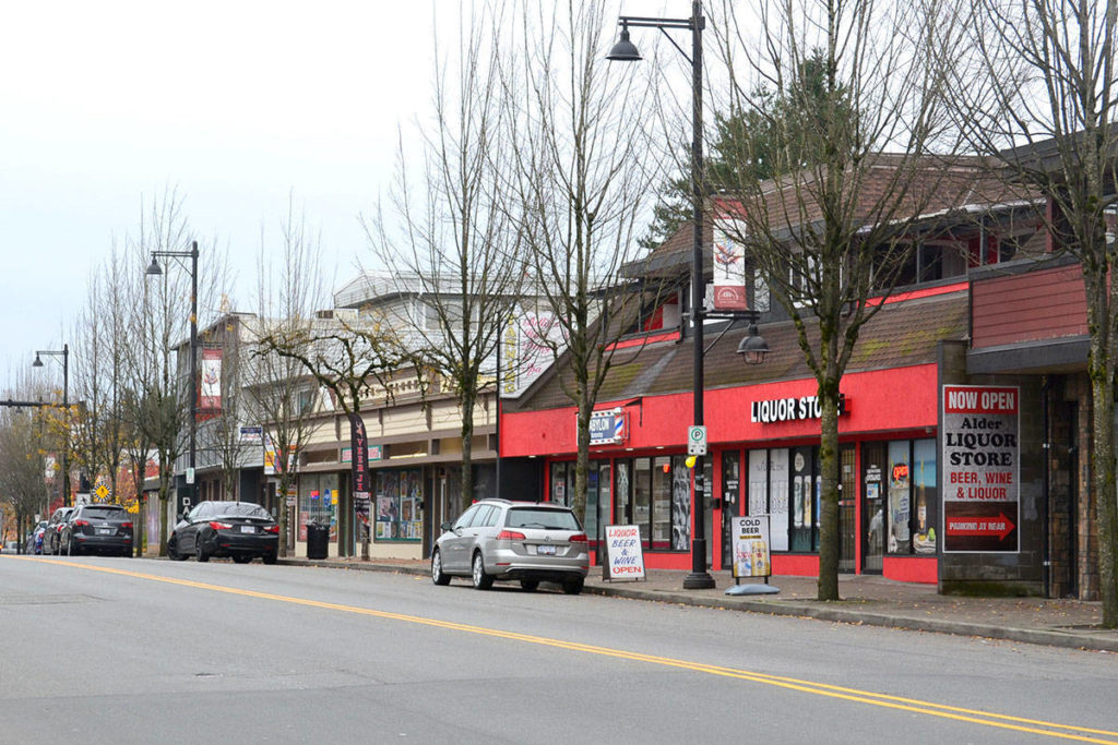 Downtown Aldergrove (Aldergrove Star files)