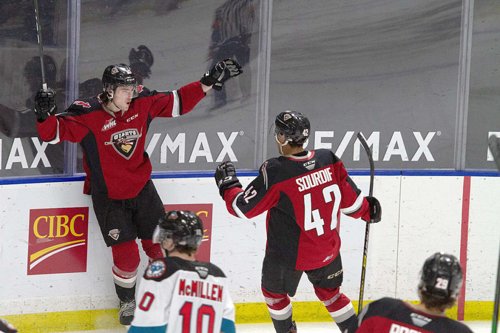 There are six games left for the Vancouver Giants in this COVID-modified season, and they're currently sitting 9-7. (Paige Bednorz/Special to Black Press Media)