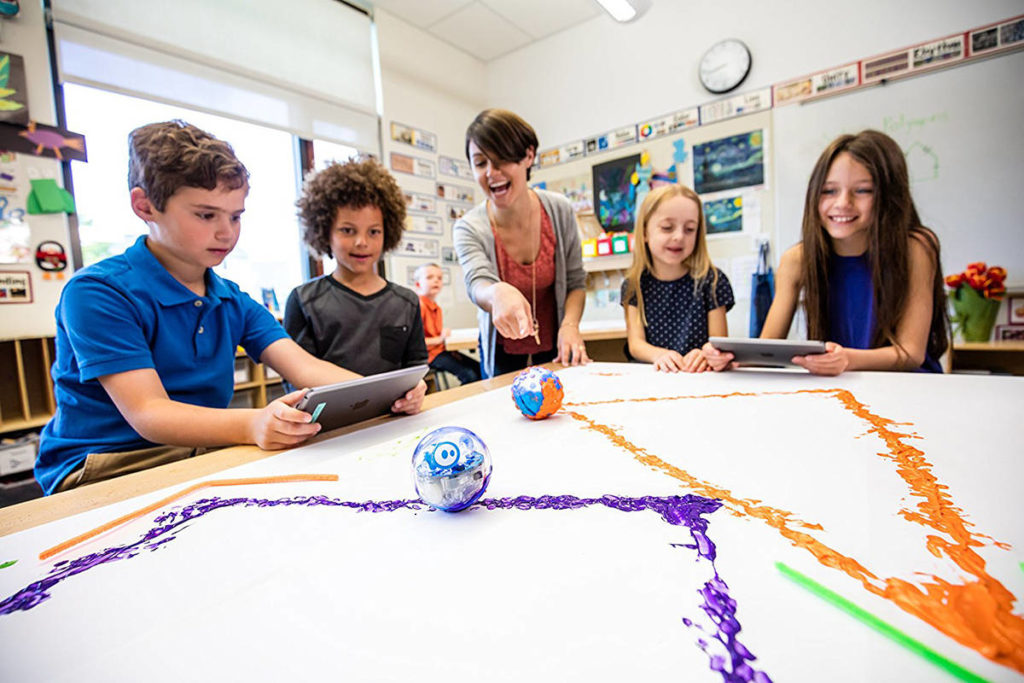 The Fraser Valley Regional Library is having a virtual 'Sphero SPRK+ Robot Challenge' on Wednesday, May 19. (Submitted)