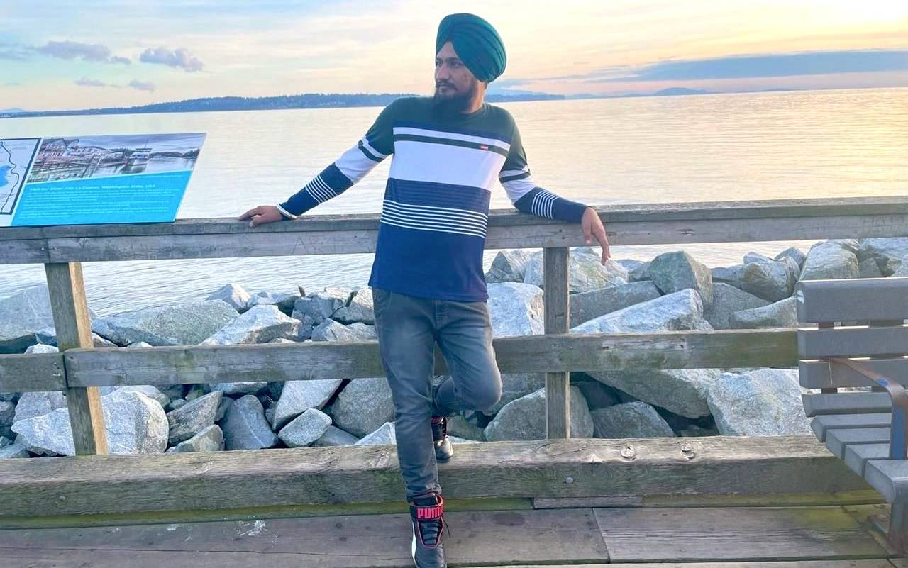 Amrinder Singh's remains were supposed to be flown home last week from British Columbia to India to be laid to rest. THE CANADIAN PRESS/Bimaljeet Kaur Kaler