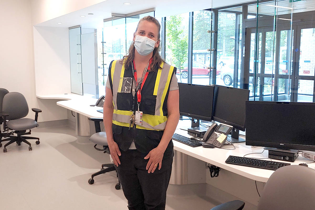 Hilary Vandergugten is the clinical care coordinator for the new emergency room in Langley. (Special to The Star)