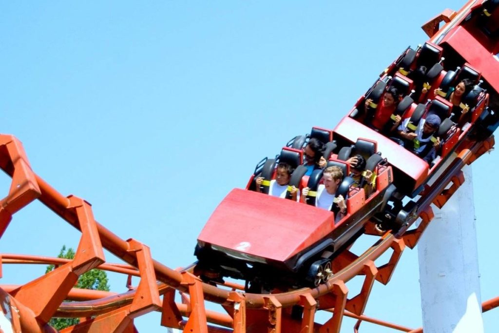 Playland's Corkscrew rollercoaster at the PNE. (Black Press Media files)